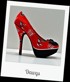 UGA shoes LOVE!!!!!!!