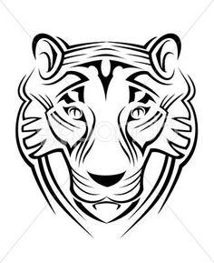 tiger sign - Иллюстрация | by Seamartini