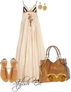 Maxi dress : 9 tenues stylées à copier cet été – Astuces de filles