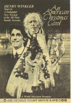 1979 Henry Winkler An American Christmas Carol Scrooge ABC TV Guide Ad Promo