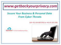 Get back your online data by DasDex Mail securely. GeBackYourPrivacy.com is an Online File Transfer Services. Send Up to 25 files of 50 GB each via laptop, tablet or smartphone.
