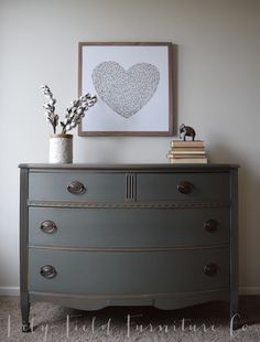 Cast Iron Dresser #DIY #furniturepaint #paintedfurniture #homedecor #customcolor #colormatch #howto #dresser - blog.countrychicpaint.com