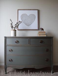 Cast Iron Dresser #DIY #furniturepaint #paintedfurniture #homedecor #customcolor #colormatch #howto #dresser - blog.countrychicpaint.com