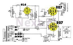 100W AM Valve Transmitter circuit
