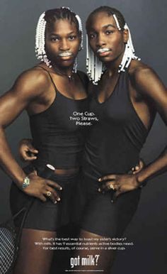 """Venus and Serena Williams 
