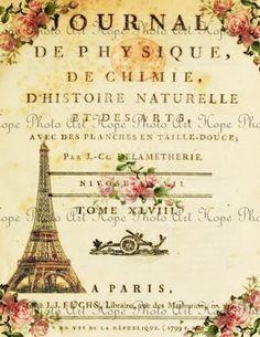 Vintage Paris Journal Printable  http://iheartshabbychic.blogspot.com/2011/05/shabby-chic-french-tags-stationery.html