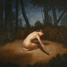 Skyclad Circle Casting...not for everyone its a personal choice to either do spell work naked as nature made you or not totally up to u!