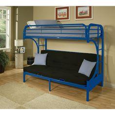 acme eclipse  full futon bunk bed eclipse twin xl queen futon bunk bed black   walmart     beds      rh   pinterest