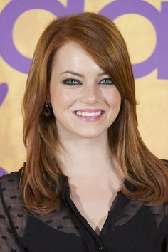Medium Long Hair Cuts For Women - Love the color. I like the cut!