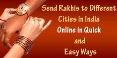 offers doorstep delivery of Rakhis to almost all cities in India. We help you dissolve the distance between you and your bhaiya.