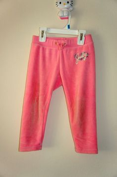 3 Used Girls Pants:2 Juicy Couture (XS) (3 Years Old)  & 1 Gap (4 Years Old)  #JuicyCoutureGap