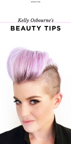 Kelly Osbourne shares her beauty advice and tips