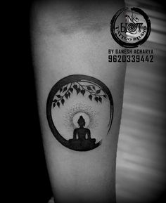 Buddha tattoo tattoos Buddha tattoo custom design done by Ganesh acharya contact Buddha Tattoo Design, Buddha Tattoos, Buddhism Tattoo, Zen Tattoo, Shiva Tattoo Design, Type Tattoo, Forearm Tattoo Design, Lotus Tattoo, Ganesh Tattoo