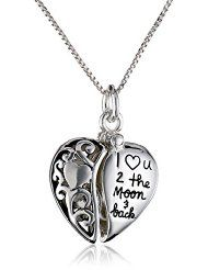 """Fine Anklets 9"""" 1"""" Sterling Silver Heart Chain With Heart Puffy Charm Anklet In Pain"""