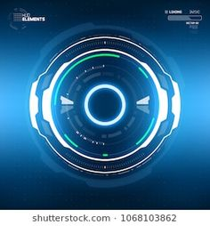 Find Futuristic Scifi Hud Circle Element Abstract stock images in HD and millions of other royalty-free stock photos, illustrations and vectors in the Shutterstock collection. Reactor Arc, Sci Fi Games, Tron Legacy, Head Up Display, Technology Background, Cyberpunk Art, Scenic Design, Game Ui, Fantasy Landscape