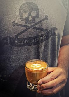 Need Coffee ~ Cortado at De Cafe Baristas, Monterrey Park. Photo R.E.