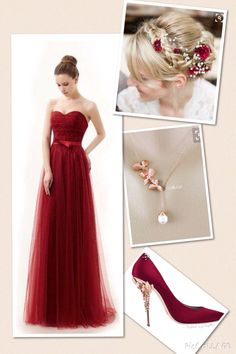 Gryffindor Yule Ball outfit