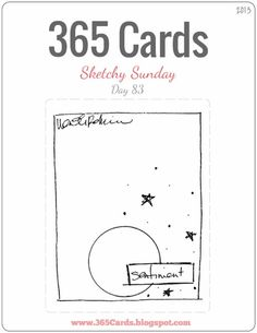 2013 365 Cards: Day 83 - Super Sketchy Sunday