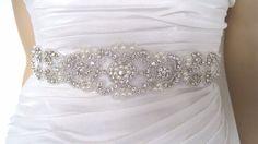 Rhinestone Wedding beltbridal belt crystal bridal by BridalStar, $69.00