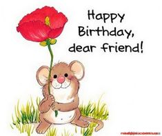 Best Birthday Quotes Dear Friend Happy 2015 Free Large Images