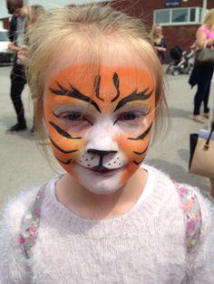 Face paint, tiger, leopard, kids, Childs, children, fun xxx