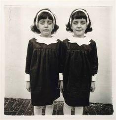 Identical twins, Roselle, N.J by Diane Arbus