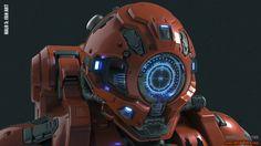 ArtStation - Halo 5: Diving Suit Fan Art Part 2, Josh Dina