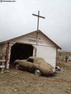 """1959 Porsche 356 """"Church Find."""""""