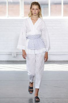 Creatures of Comfort Spring 2018 Ready-to-Wear  Fashion Show Collection