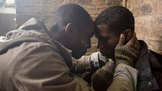 "Max (Ivanno Jeremiah) and Fred (Sope Dirisu) in ""Humans"" 2015, season 1."