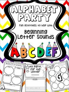 Students will imagine they're planning a party for each letter of the alphabet. They have to think of a setting for the party, guests to invite, food, games, and presents for the specific letter. When planning for each category, students can only use words that begin with that specific letter. The students will have fun creating silly party scenarios for each letter.