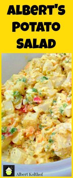 Albert's Potato Salad, Oh this is good! Enjoy
