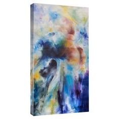 Bring a touch of chic style to your living room or master suite with this eye-catching canvas print, showcasing an abstract motif.  Product: Canvas printConstruction Material: Canvas and woodFeatures:  Gallery-wrappedReproduction of work by artist Prince Asher