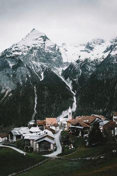 "banshy: "" Latsch, Switzerland by: Valentin & Roman """