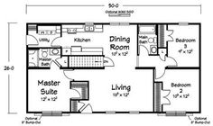 Floor plans manufactured homes modular homes mobile for Double wide floor plans with basement