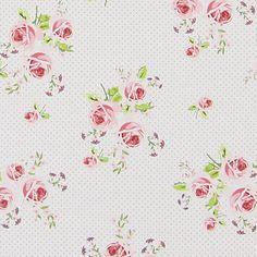 Cotton Ring of Roses 6 - Telas de algodón – Flores - Telas de algodón