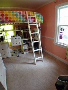lofted bed aliance murphy bed desk