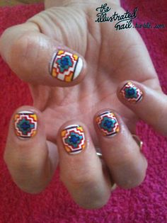 tribal nails?