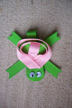 turtle ribbon bow.