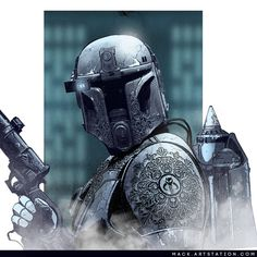 Mandalorian Concept Art - Created by Mack Sztaba Battle Armor, Star Wars Characters Pictures, Star Wars Universe, Sci Fi, Star Wars Rpg, Star Wars Pictures, Sci Fi Fantasy, Art, Black Panther Marvel
