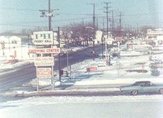 baltimore county historic | Photograph of intersection of Belair and Joppa Roads, Winter 1966-67 ...