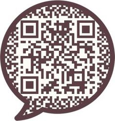 Add the QR and let's start talking! and even learn another language