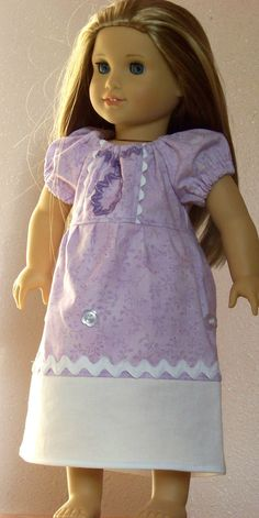 """15"""" Doll SOFIA the First Inspired Peasant Princess Dress American Girl Disney Doll Dress by #MyKidsDrawers"""