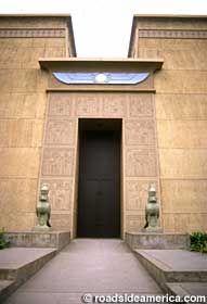 Rosicrucian Egyptian Museum in San Jose, California: