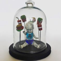 Impure Thoughts: Fast Food by Flora Art Studio Snow Globes, Flora, Thoughts, Studio, Artwork, Decor, Decorating, Work Of Art, Plants