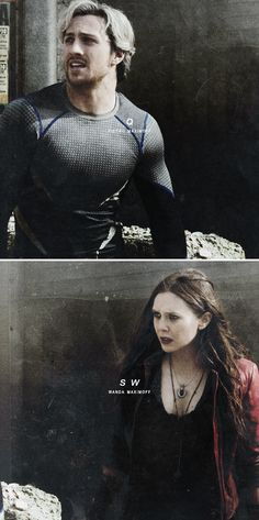 QUICKSILVER + SCARLET WITCH #marvel