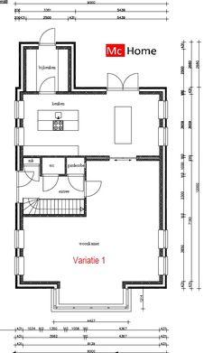 Mc-Home.nl k8 duurzame energieneutrale woning met zadeldak in moderne bouwwijze