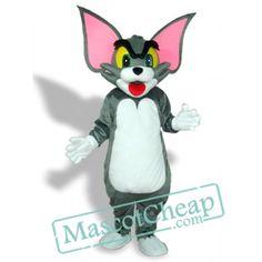 Big Ear Tom Cat Adult Mascot Costume