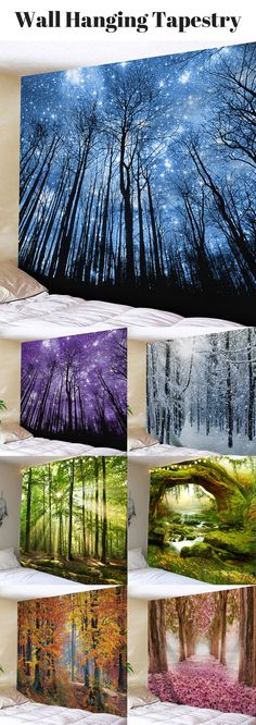 100+ Creative Wall Hanging Tapestries | Starting from $11 | #WallHanging #WallArt  #tapestry