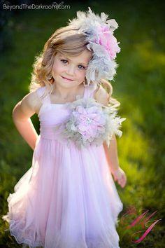 Fairy Dust Breeze Girls Feather Dress by sharpsissors on Etsy